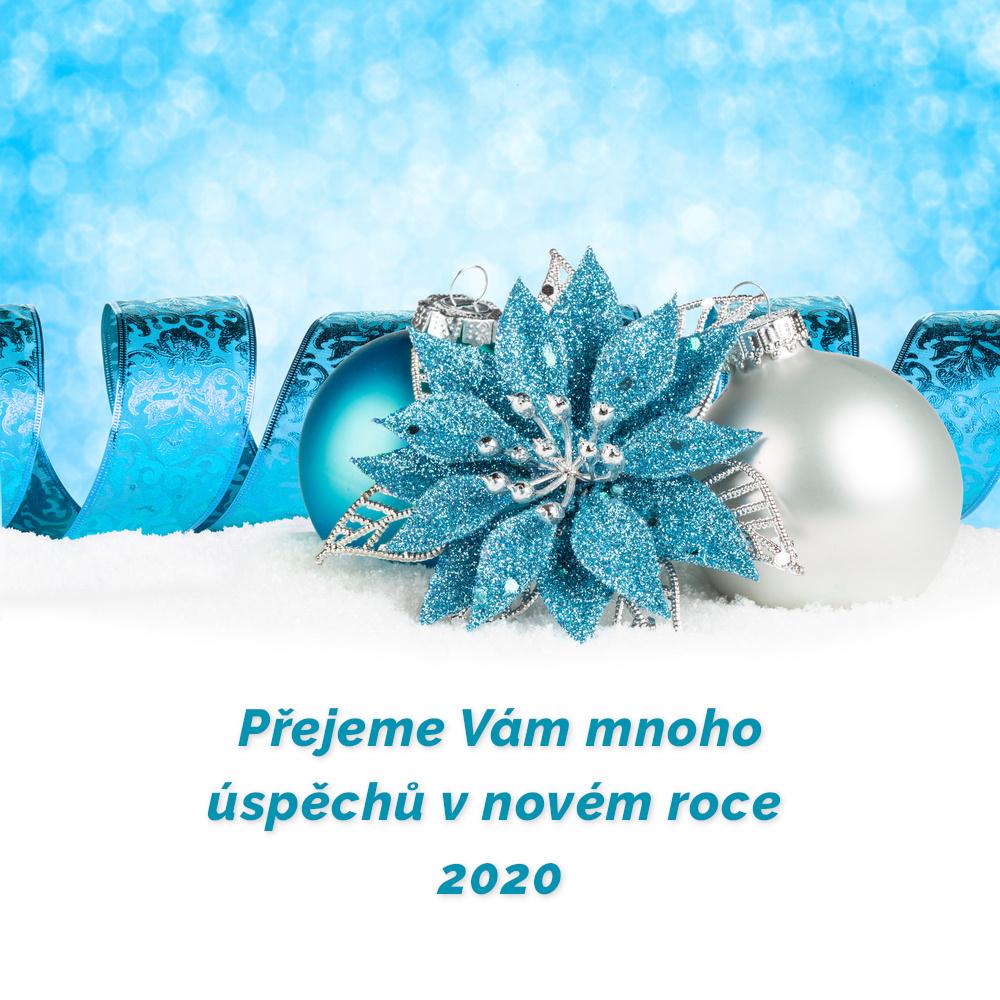 Přejeme Vám mnoho úspěchů v novém roce 2020